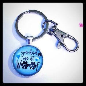 🐾🐶You Had Me At Woof Key Chain Clip🐶🐾